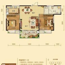 桂花城三期B15户型 户型图