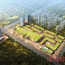 璟湖世纪城鸟瞰图