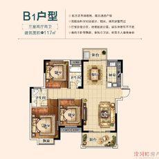 三胜·首府B1户型户型图