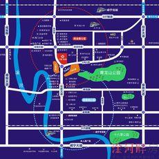 三胜·首府区位图