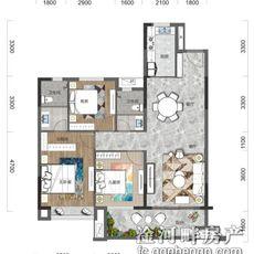 金海城C1户型图