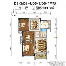 佳辰国际·中央城D3-3户型图
