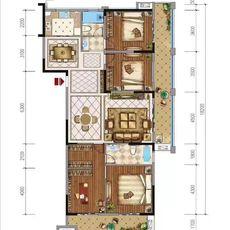 佳辰国际·中央城D2-1户型图