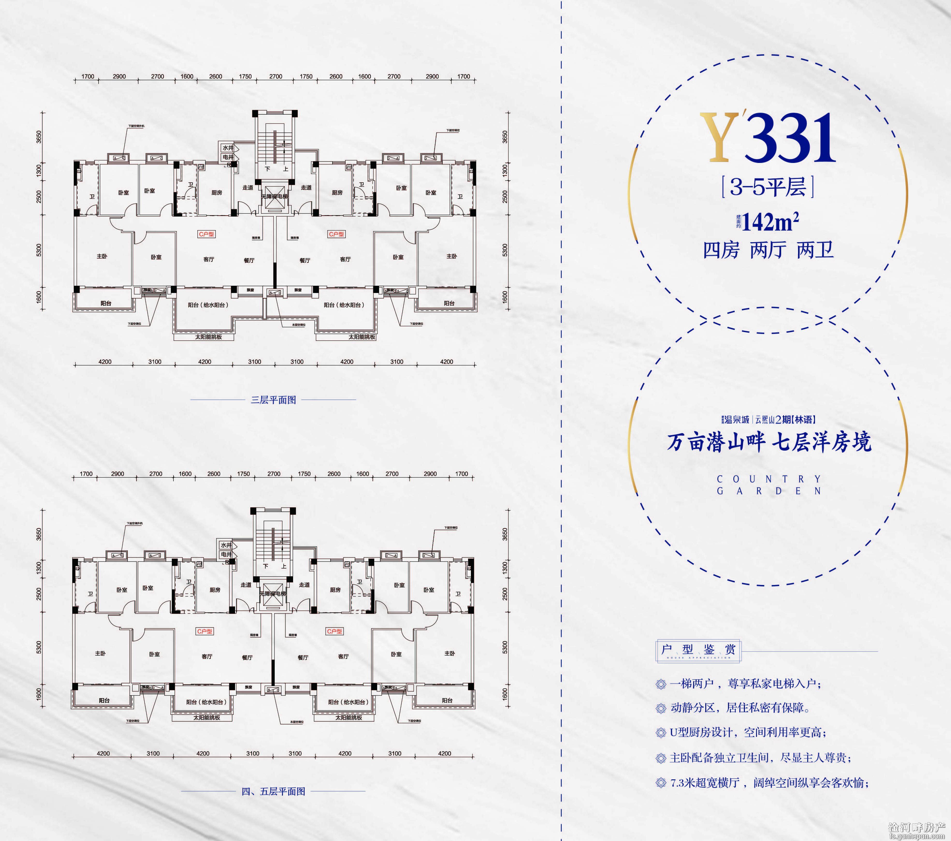碧桂园温泉城云熙山(二期)-户型图户型