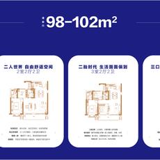 绿地咸宁城际空间站户型图户型图