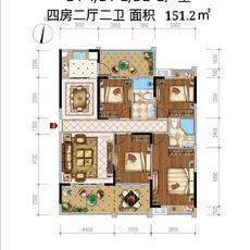 中央城三期D1-1户型图