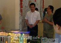 丁市长莅临不夜城考察咸宁美食街项目