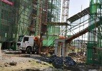 皇庭观邸7月工程进度 一期4栋楼已封顶
